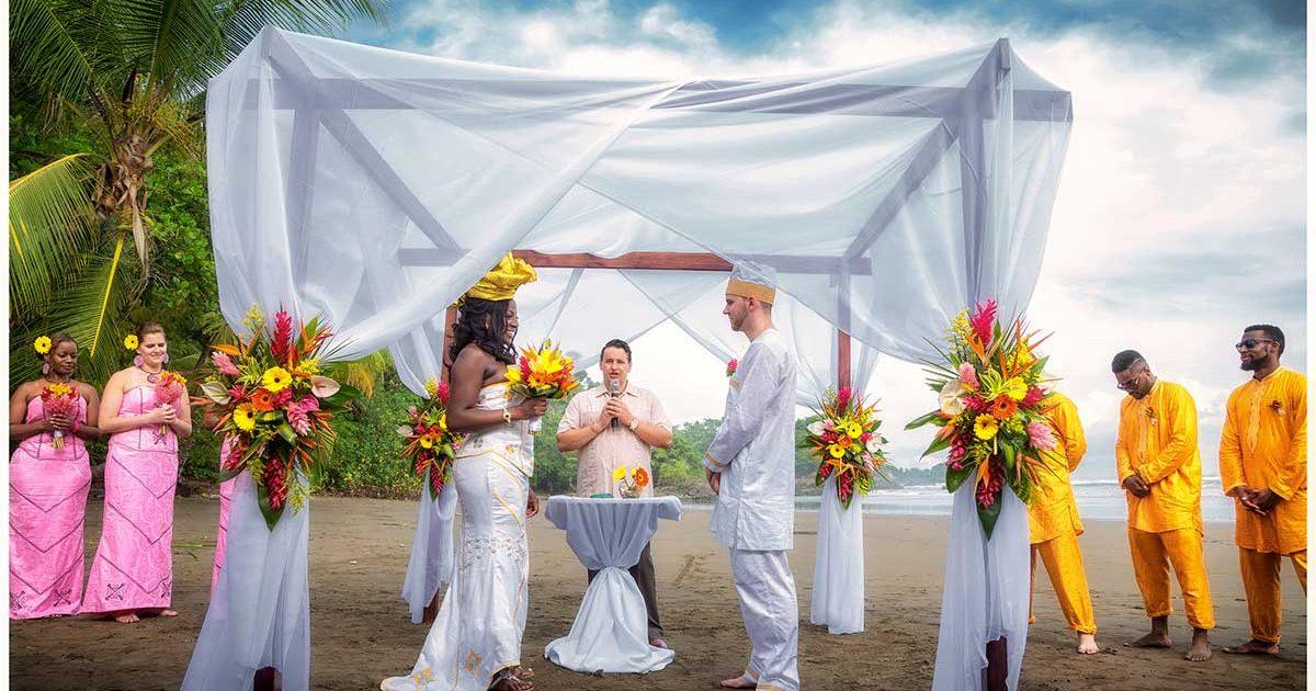 wedding costa rica ceremony