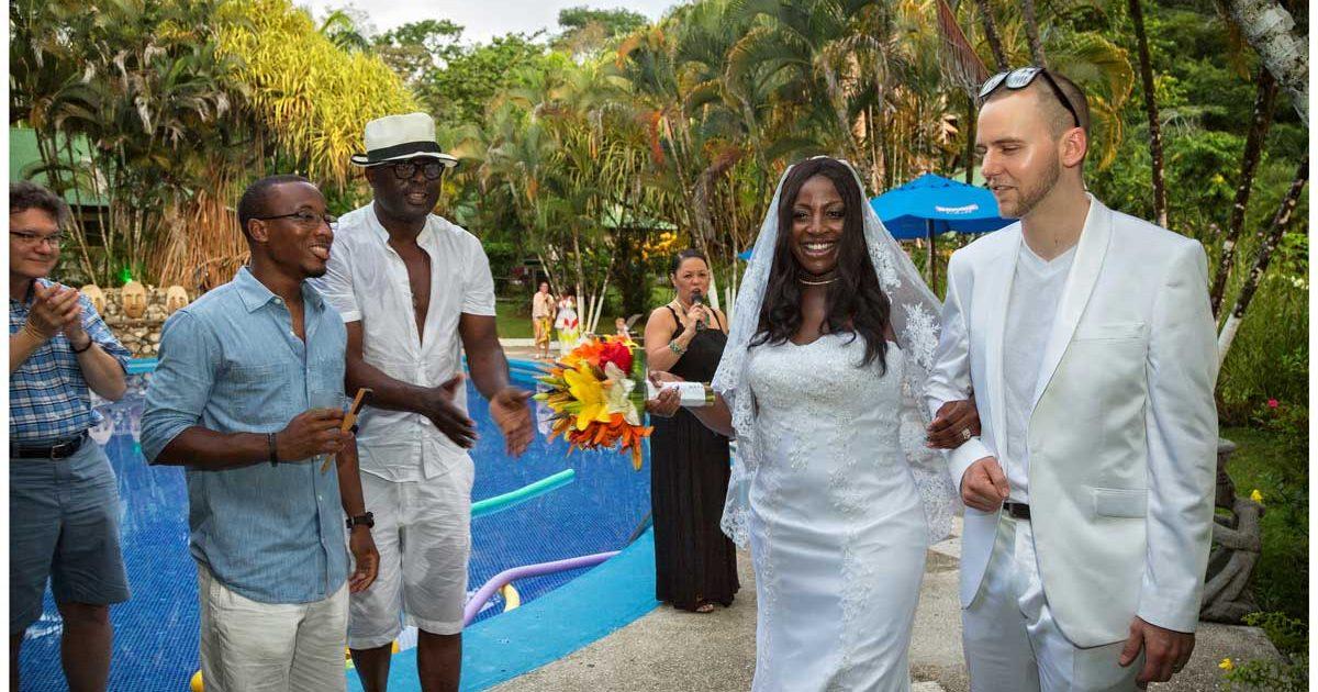 wedding reception costa rica